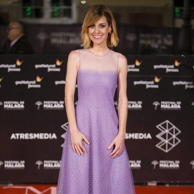 Alexandra Jiménez en la alfombra roja del Festival de Málaga 2018