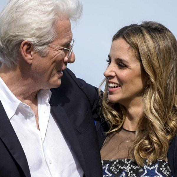 La bonita historia de amor de Richard Gere y Alejandra Silva