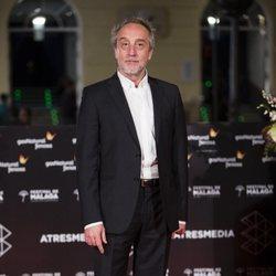 Gonzalo de Castro en la alfombra roja de una de las noches del Festival de Málaga 2018
