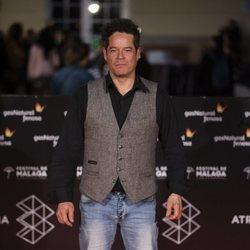 Jorge Sanz en la alfombra roja de una de las noches del Festival de Málaga 2018