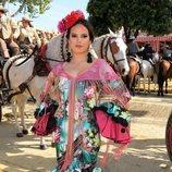 Gloria Camila disfrutando de la Feria de Abril 2018