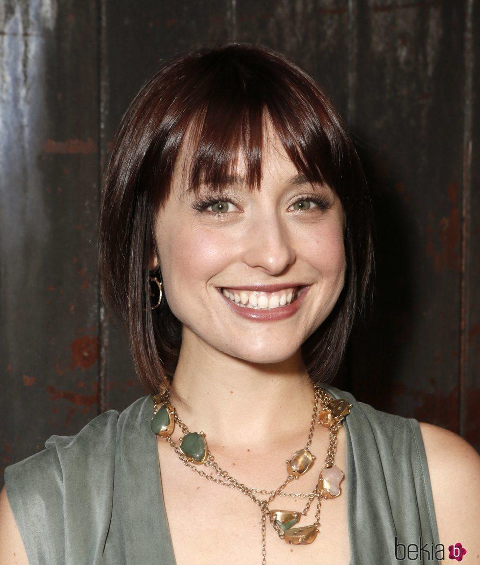 Allison Mack en la FX Summer Comedies Party en 2012