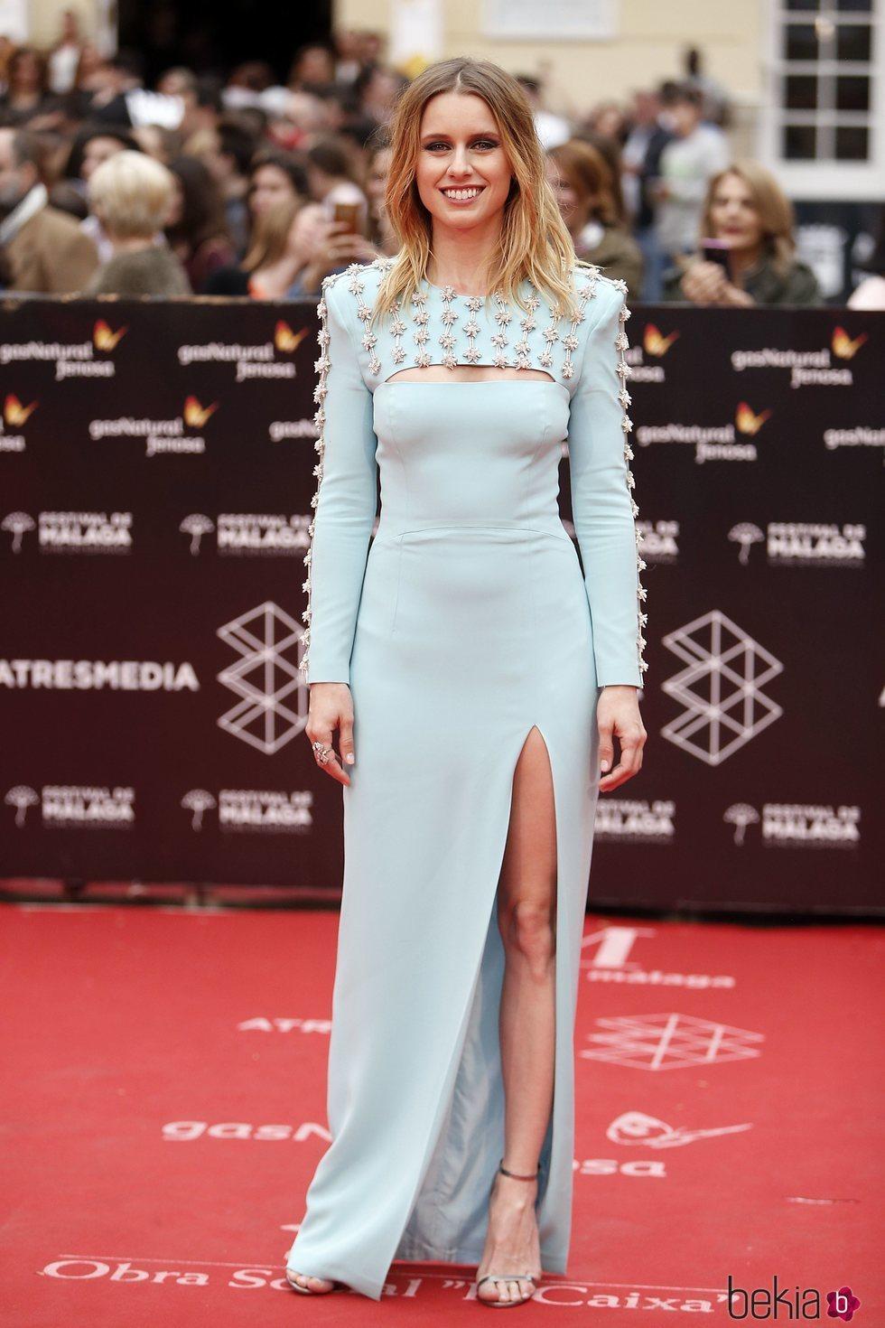 Manuela Vellés en la Gala de Clausura del Festival de Málaga 2018