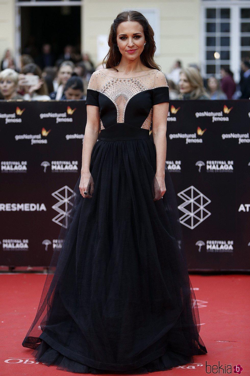 Paula Echevarría en la Gala de Clausura del Festival de Málaga 2018