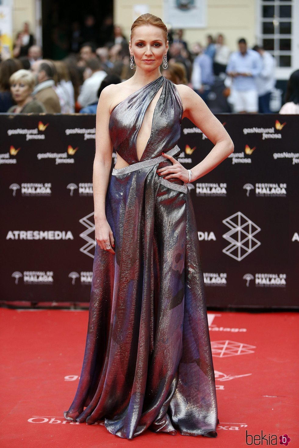 Cristina Castaño en la Gala de Clausura del Festival de Málaga 2018