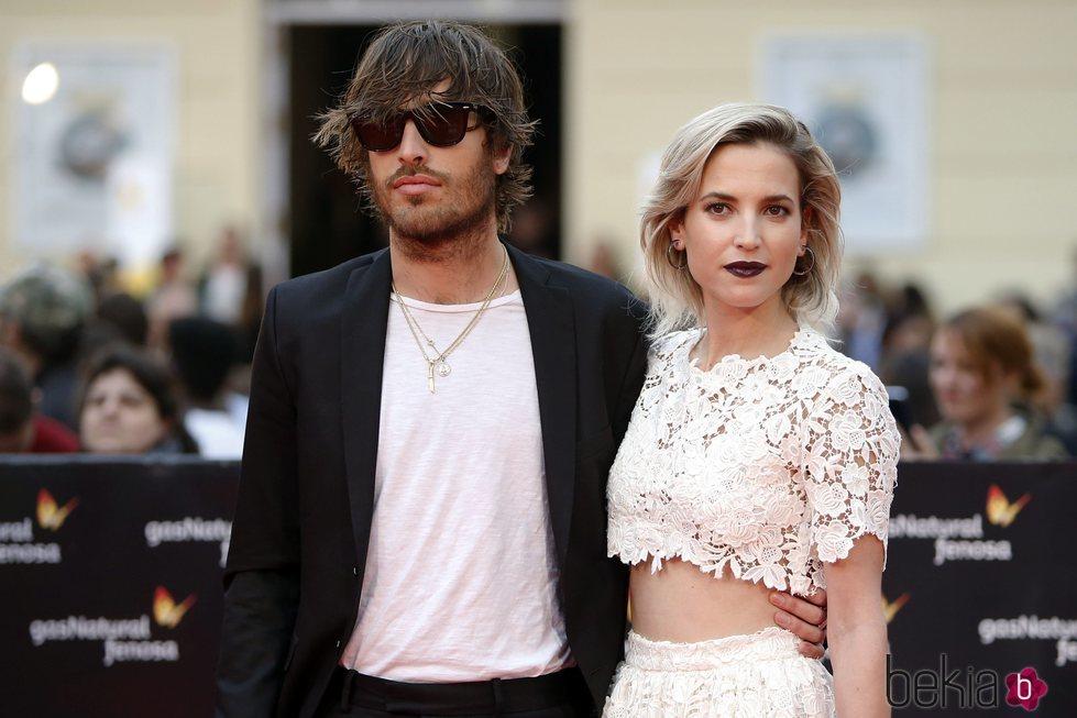 Ana Fernández y Adrián Roma en la Gala de Clausura del Festival de Málaga 2018