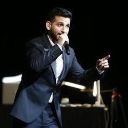 Fran Perea en la Gala de Clausura del Festival de Málaga 2018