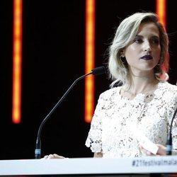Ana Fernández durante la Gala de Clausura del Festival de Málaga 2018