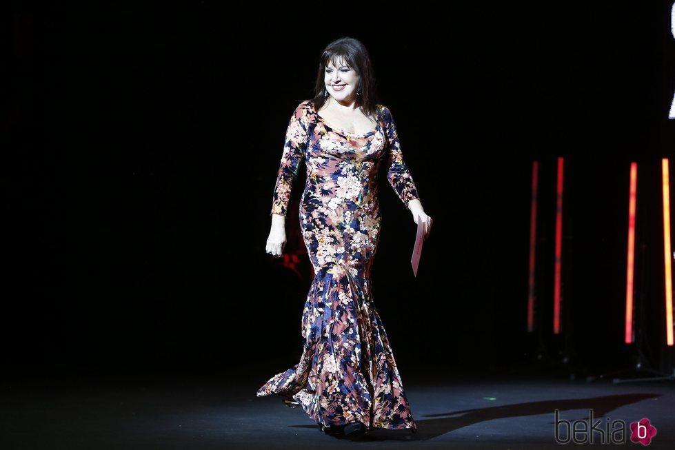 Loles León durante la Gala de Clausura del Festival de Málaga 2018