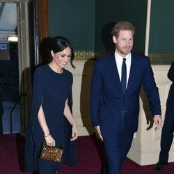 El Príncipe Harry y Meghan Markle en el concierto del 92 cumpleaños de la Reina