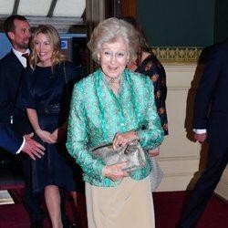 Alejandra de Kent en el concierto del 92 cumpleaños de la Reina