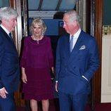 El Príncipe Carlos y la Duquesa de Cornualles en el concierto del 92 cumpleaños de la Reina