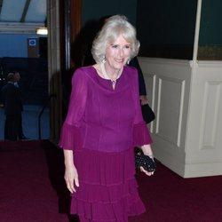 La Duquesa de Cornualles en el concierto del 92 cumpleaños de la Reina