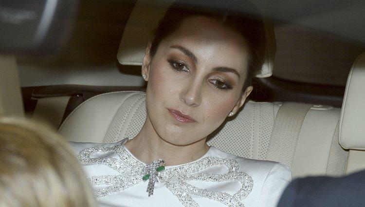 Alejandra Romero el día de su boda con Pedro Armas