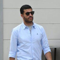 Miguel Torres dando un paseo por Málaga