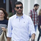 El futbolista Miguel Torres paseando por Málaga