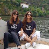 Sara Carbonero e Isabel Jiménez juntas en Oporto