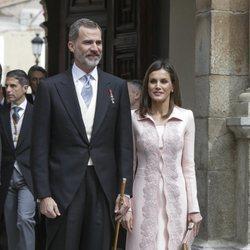 Los Reyes Felipe y Letizia en la entrega del Premio Cervantes 2017