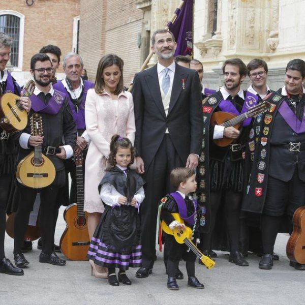 Los Reyes Felipe y Letizia presiden la ceremonia del Premio Cervantes 2018