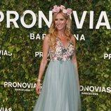 Alejandra Prat en el desfile de Pronovias en la Barcelona Bridal Fashion Week 2018