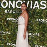Irina Shayk en el desfile de Pronovias en la Barcelona Bridal Fashion Week 2018