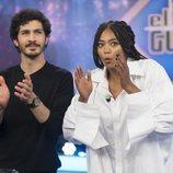 Chino Darín con Berta Váquez en 'El Hormiguero'