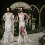 Blanca Romero y Lucía Rivera desfilan en la Barcelona Bridal Fashion Week 2018 para Pronovias