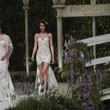 Blanca Romero y Lucía Rivera se suben a la pasarela de la Barcelona Bridal Fahion Week 2018