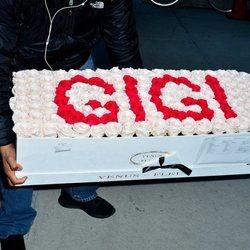 Flores decorativas del 23 cumpleaños de Gigi Hadid