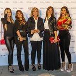 Las WAGs del Barça no se pierden el desfile de Rosá Clara en Barcelona