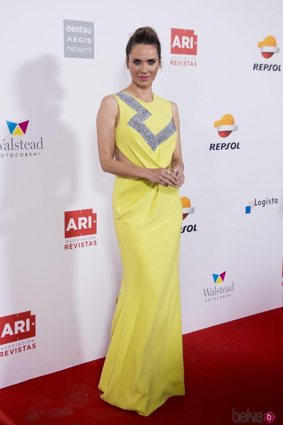 Vanesa Romero en los Premios Ari 2018