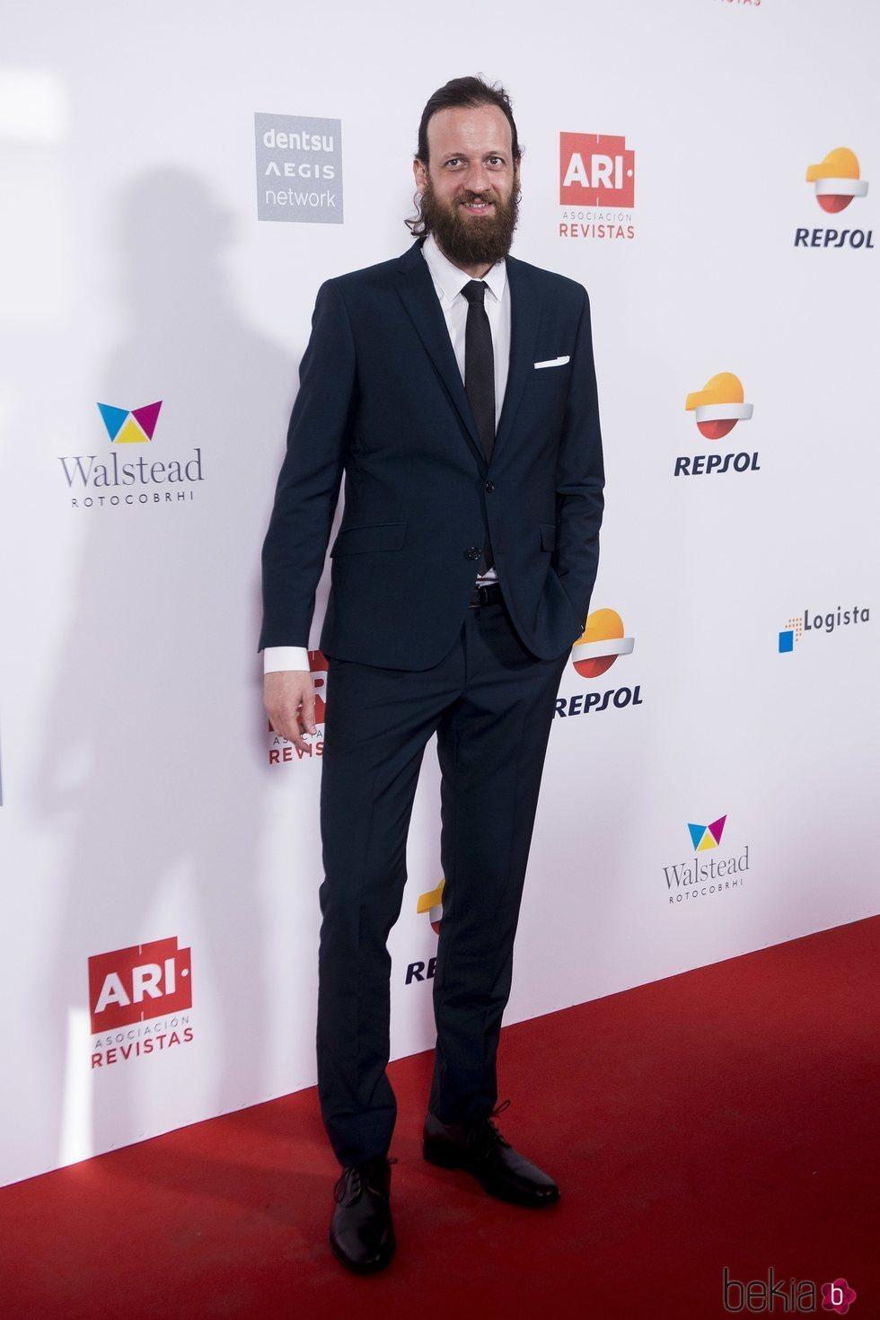 Edu Soto en los Premios Ari 2018