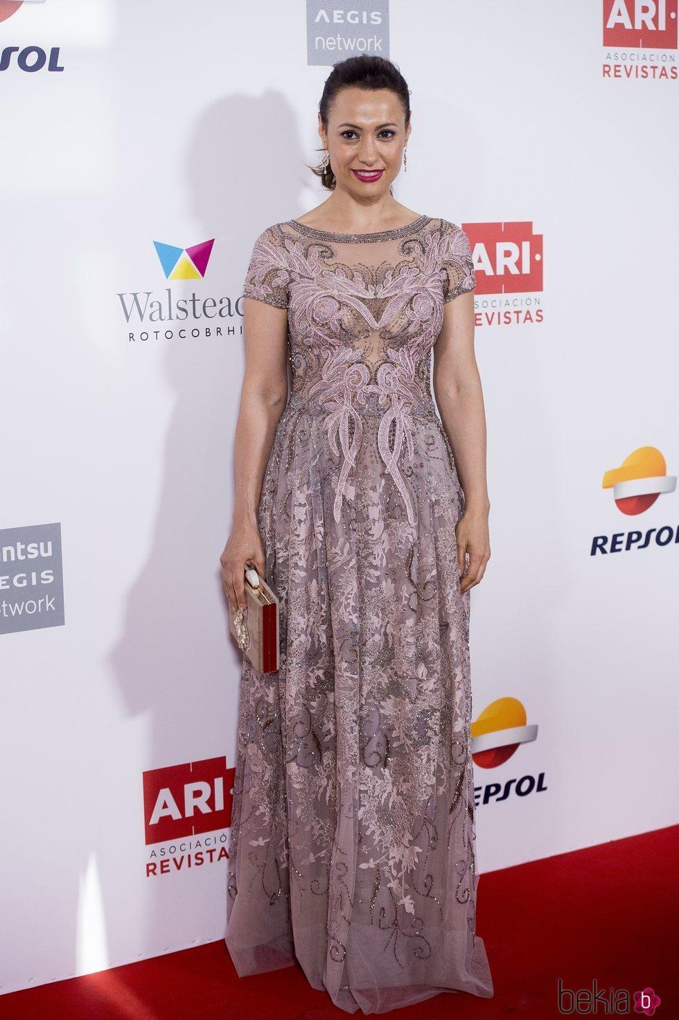 Natalia Verbeke en los Premios Ari 2018