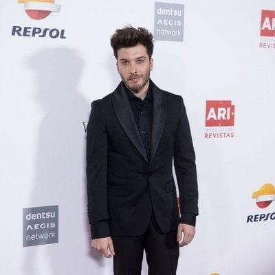 Blas Cantó en los Premios Ari 2018