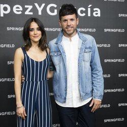 Macarena García y Pablo López presentando la nueva campaña de Springfield