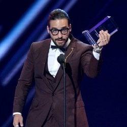 Maluma recoge el Premio Billboard a mejor artista en redes sociales en 2018