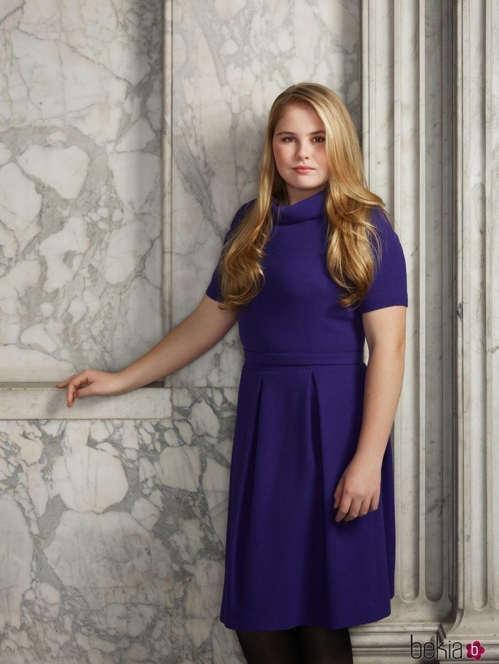 Retrato oficial de Amalia de Holanda