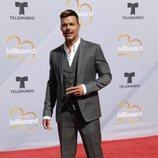 Ricky Martin en la alfombra roja de los Premios Billboard de la Música Latina de 2018