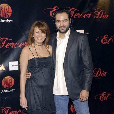 Gema López y su exmarido, Antonio Pardo
