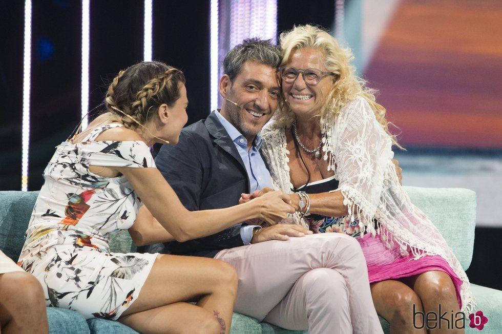 Mayte Zaldívar y Fernando Marcos, muy sonrientes en la gala 7 de 'Supervivientes 2018'