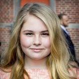 Primer plano de la Princesa Amalia de Holanda