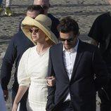 Katy Perry y Orlando Bloom durante su viaje a Roma