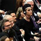 Katy Perry y Orlando Bloom en una misa en el Vaticano