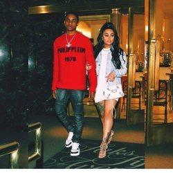 Blac Chyna y su novio YBN Almighty Jay