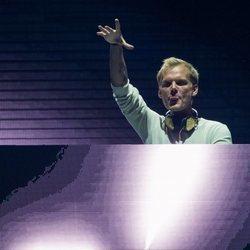 El DJ Avicii durante uno de sus espectáculos