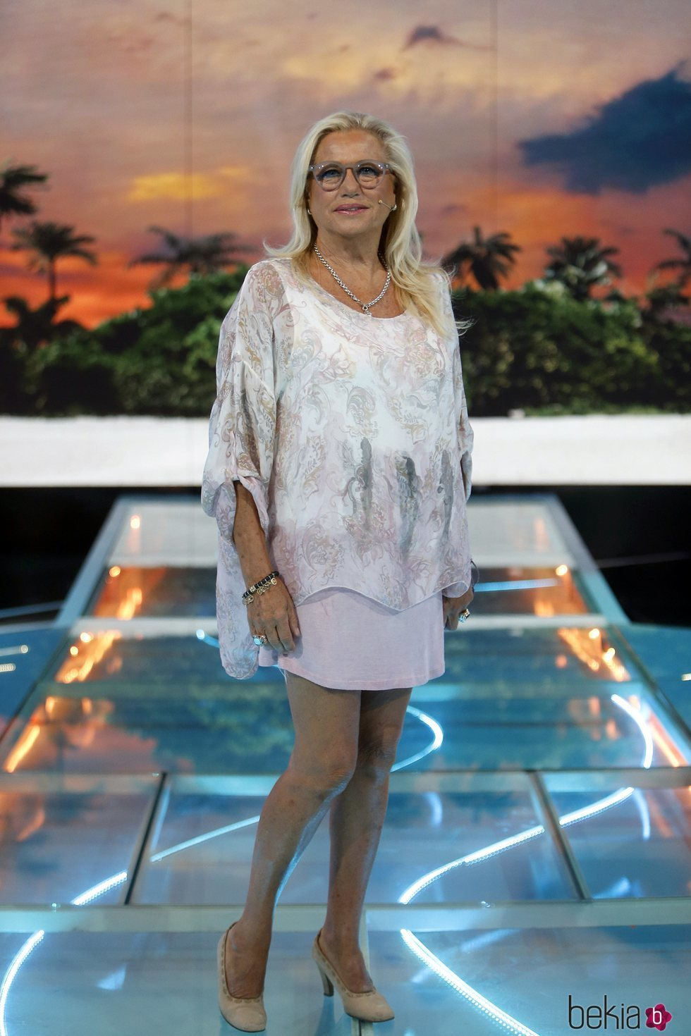 Mayte Zaldívar posa en la gala 8 de 'Supervivientes 2018'