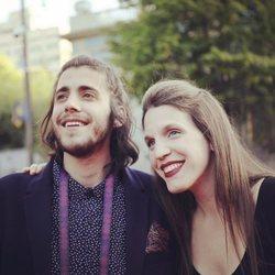 Luísa y Salvador Sobral muy sonrientes