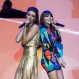 Ana Guerra y Aitana en el concierto Los 40 Primavera Pop 2018