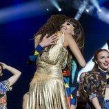 El increíble abrazo de Aitana y Ana Guerra en el concierto Los 40 Primavera Pop 2018