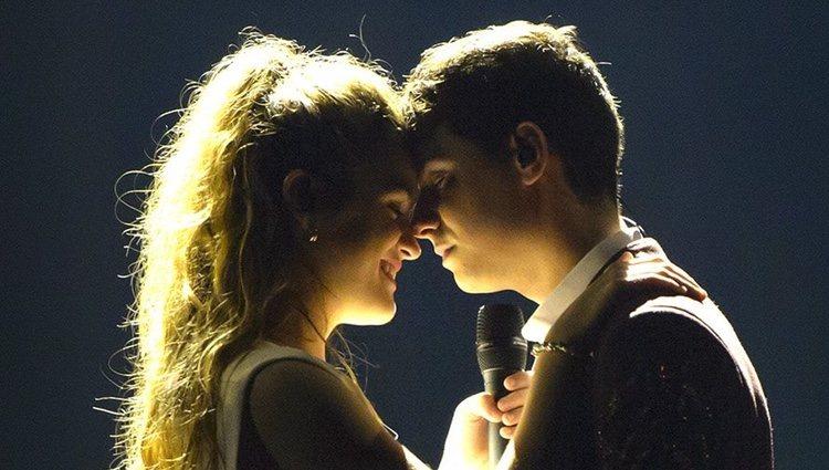 Amaia Romero y Alfred García muy unidos en sus ensayos para Eurovisión 2018